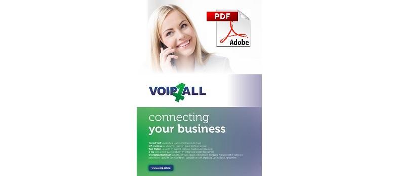 Nieuwe brochure Voip4all